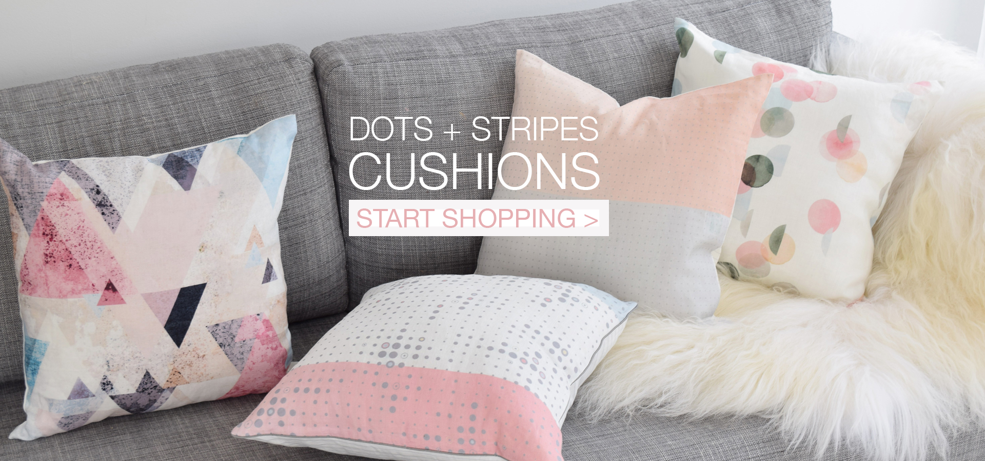 Dots+Stripes-Linen-Cushions-On-Sofa-Start-Shopping