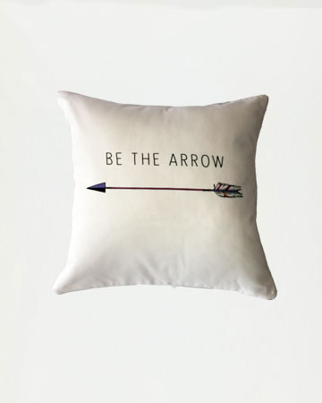 Be The Arrow Cushion
