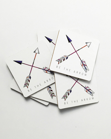 Be The Arrow Cross Coasters Millie Archer