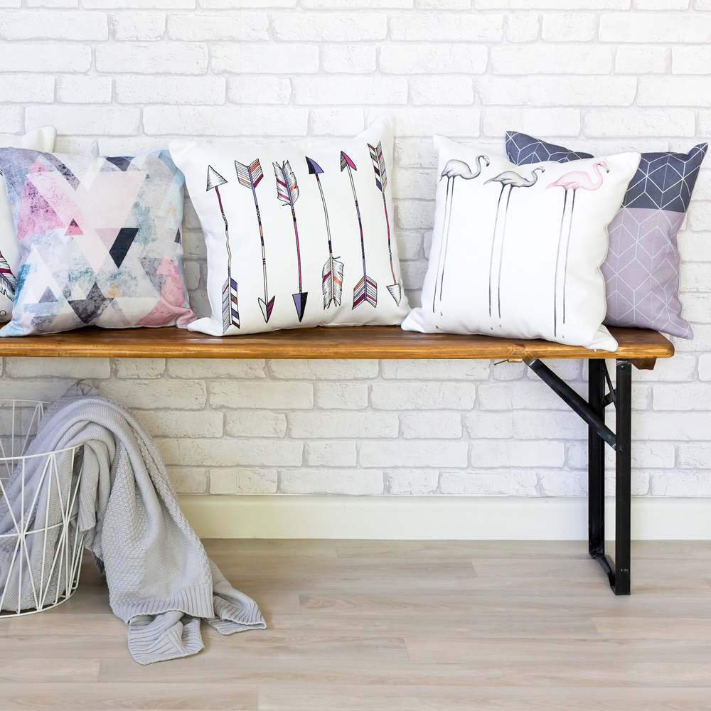 Be The Arrow Multi Cushion Styling