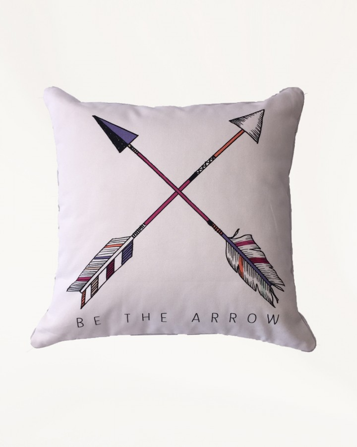 Millie Archer arrow cross cushion