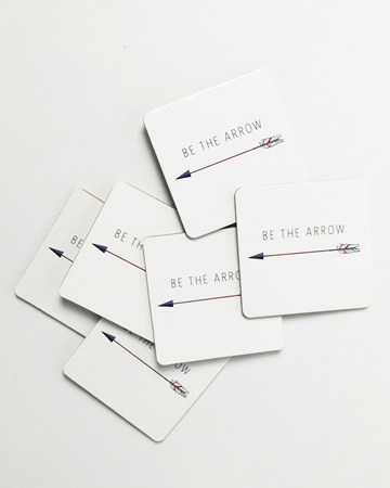 Millie Archer Arrow Coasters