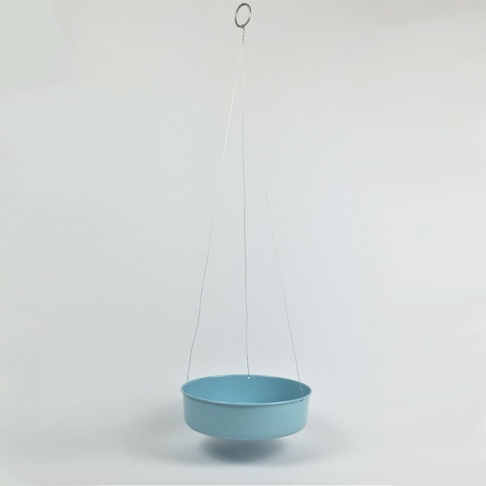 Sea Foam Disc Hanging Planter Millie Archer