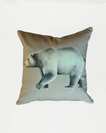 Single Bear Cushion Millie Archer