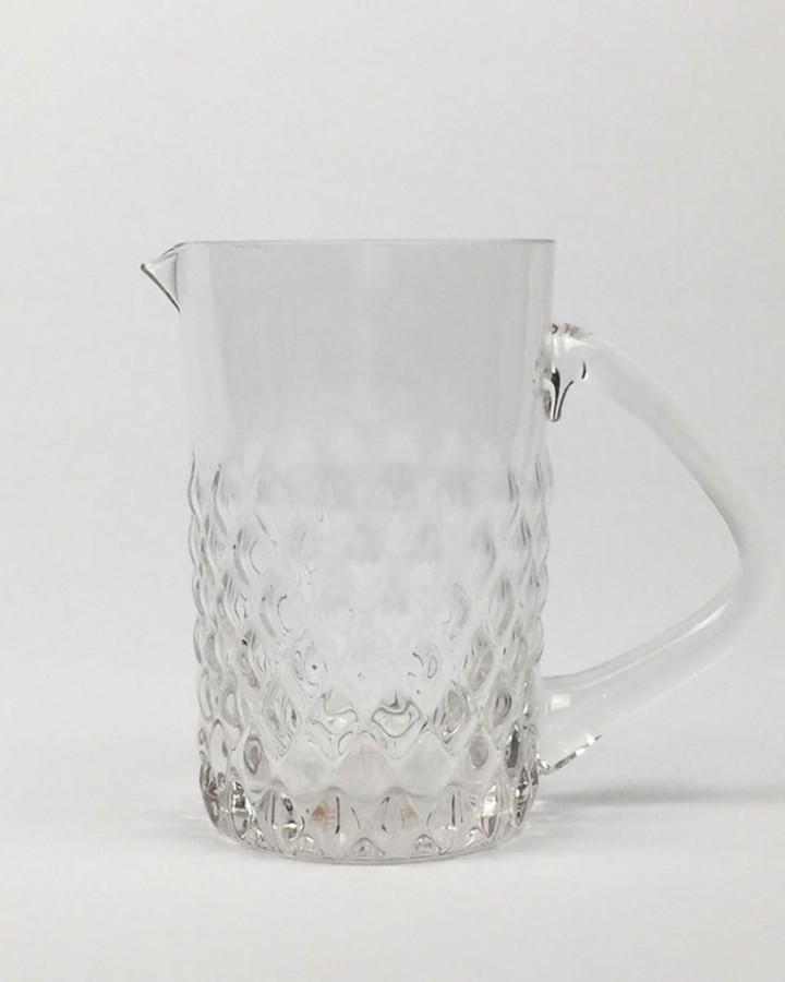 Textured Glass Jug Millie Archer