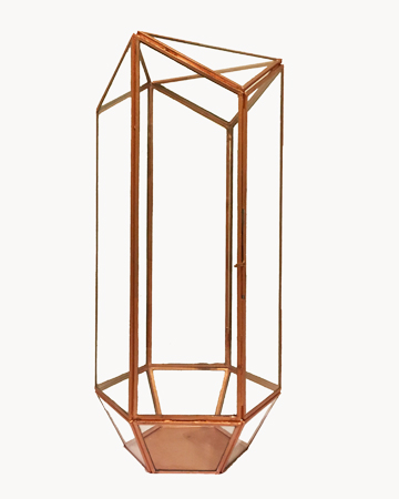 Millie Archer Copper Rectangle Terrarium