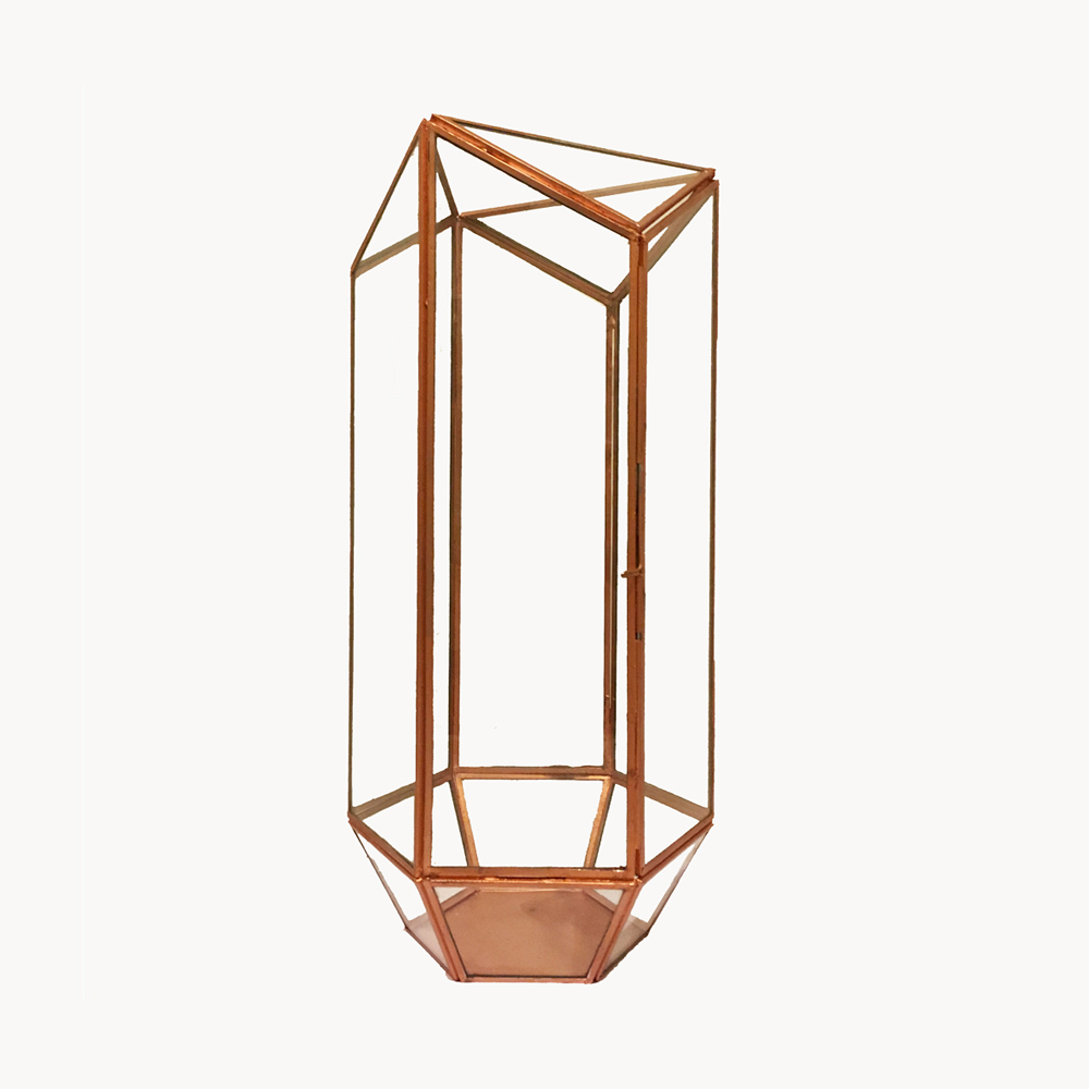 Copper Rectangle Terrarium Millie Archer
