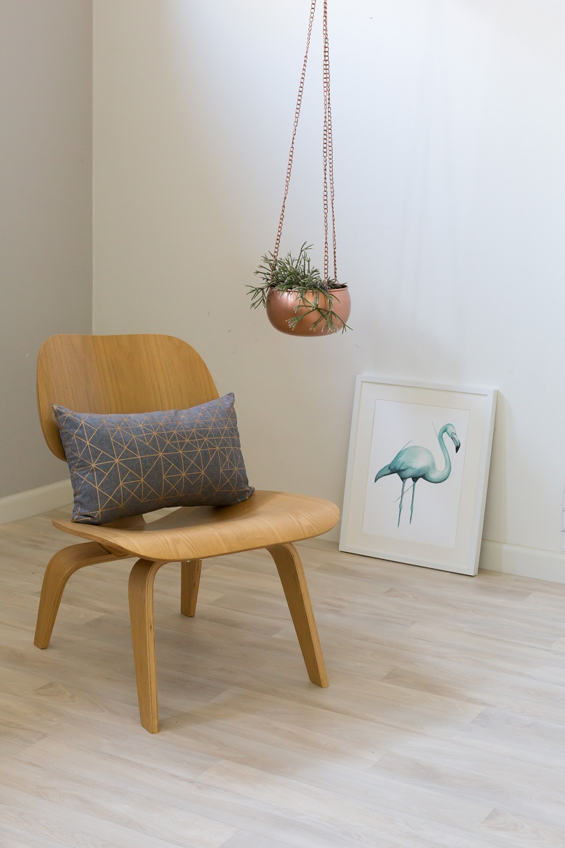 Milliearcher Styling Cushion Print Hanging Planter