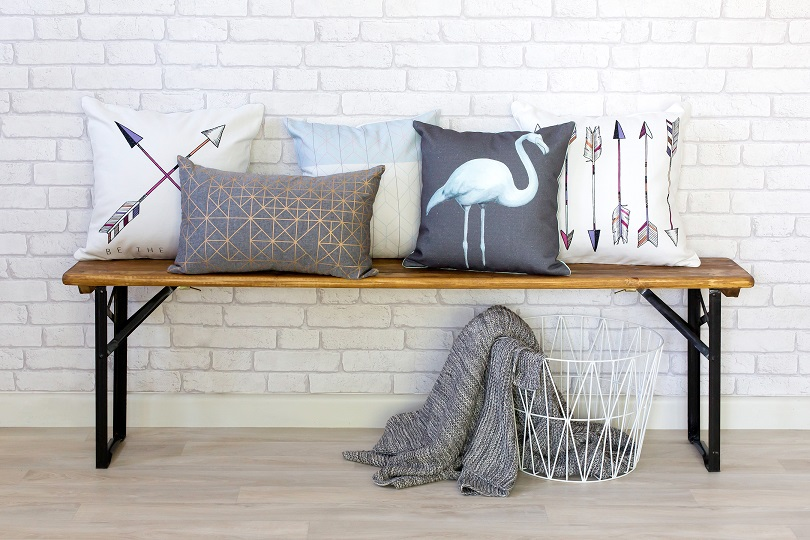 Millie Archer Styling Cushions Throw Blankets