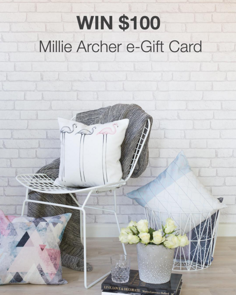 Millie Archer Gift Card Chirstmas gifts