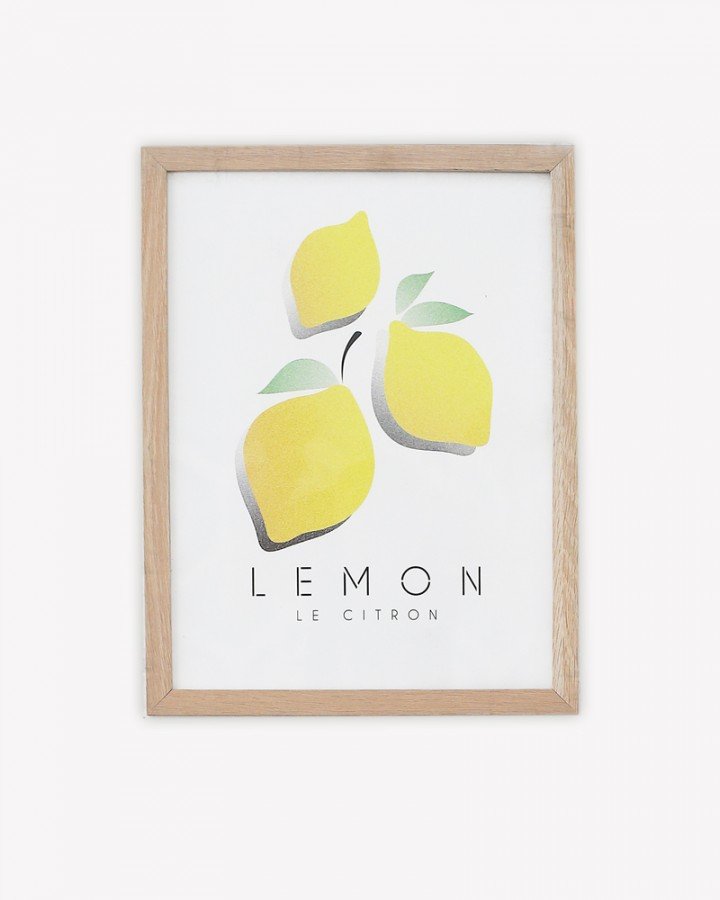 Millie Archer Le Citron Wall Art Print