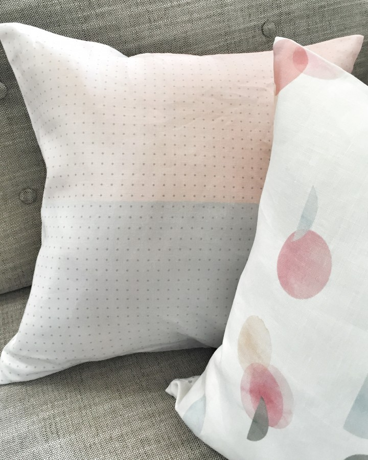 Half Way Linen Cushion