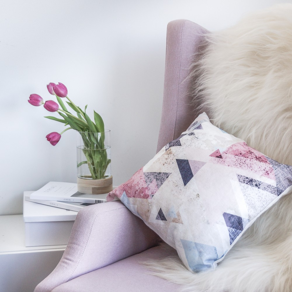 Triangle Linen Cushion Millie Archer Homewares Online