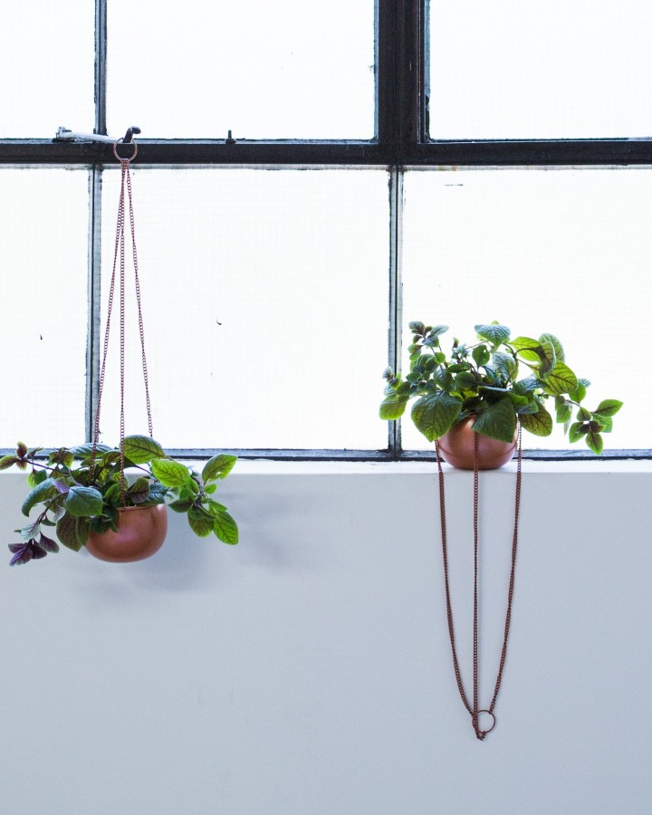 Millie Archer Hanging Planter duo